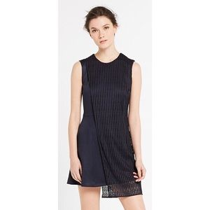 NWOT Sandro navy blue cocktail dress in size 1